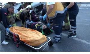 Halkalı'da zincirleme kaza: 6 yaralı