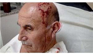 74 yaşındaki Ekrem Yaşlı, Kürtçe konuştuğu için saldırıya uğradı