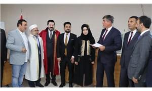 Barolar Birliği Başkanı Metin Feyzioğlu, dini nikahta 'şahitlik' yaptı