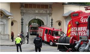 İstanbul Valiliği'nde çıkan yangın söndürüldü