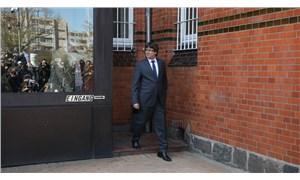 Hakim karşısına çıkarılan Puigdemont serbest bırakıldı