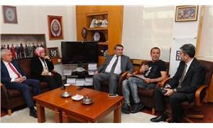 Haluk Levent, YÖK Başkanı Saraç ile 'yetenek sınavı'nı görüştü