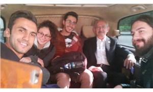 Kılıçdaroğlu otostop çeken ODTÜ'lüleri aracına aldı