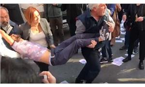 Ankara'da HDP'lilere polis müdahalesi: 1 kişi hastaneye kaldırıldı
