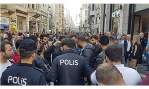 """""""Çantamda bomba var"""" diye bağırdı, Taksim'de gözaltına alındı"""