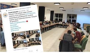 Muhalif öğrencilere her şeyi yasaklayan üniversite AK Gençlik'e izin verdi, etkinliği 'favladı!'