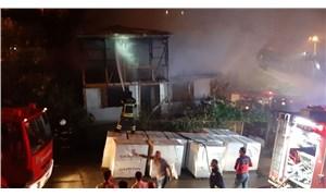 Uzaklaştırma cezası alan kayınpeder gelininin evini yaktı!