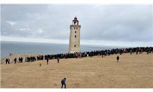 Danimarka'da 120 yıllık deniz feneri taşınıyor