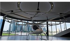 Dünyanın ilk hava taksisi durağı Singapur'da tanıtıldı