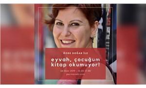'Eyvah, çocuğum kitap okumuyor!' etkinliği 26 Ekim'de İzmir'de
