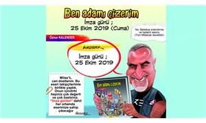 Karikatürist Öznur Kalender'in imza günü 25 Ekim'de Milas'ta