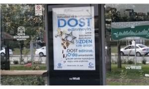 Konya'daki nefret söylemi içeren afişler toplatıldı