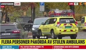 Norveç'te ambulans çalan silahlı adam yakalandı: Polis ateş açtı
