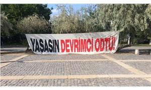 ODTÜ'de provokatif yürüyüşe öğrencilerden tepki: Saldırılara ve faşizme karşı bir aradayız