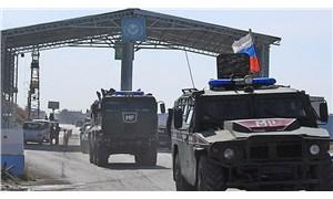 Rus konvoyu Kobani'de görüntülendi