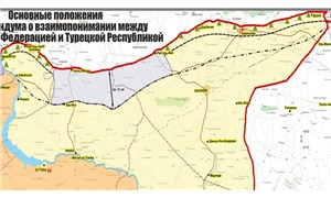 Rusya harita yayınladı: Türkiye sınırına 15 kontrol noktası kuruluyor