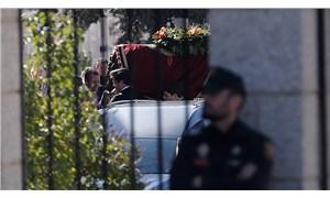Diktatör Franco'nun mezarı taşındı
