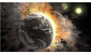 300 ışık yılı uzaklıktaki iki gezegenin çarpışması gözlemlendi