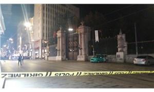 İstiklal Caddesi yaya geçişine kapatıldı