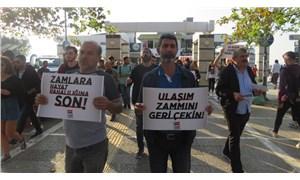 ÖDP'den İzmir'de toplu ulaşım zammı protestosu: Zamlara, pahalılığa bir kez daha yeter diyoruz!