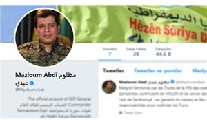 Twitter'dan YPG'li Kobani'ye 'mavi tik'