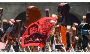 Victor Jara Şili eylemlerinde yaşıyor