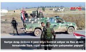 Suriye Devlet Televizyonu: Türk güçleriyle Suriye Ordusu arasında çatışma çıktı!
