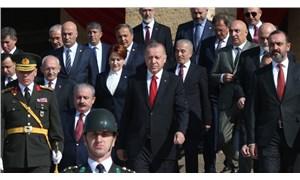 Devlet erkanı Anıtkabir'e çıktı; Erdoğan'dan harekat vurgusu