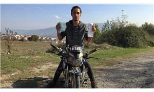 Modifiyeli ve ehliyetsiz motosiklet kullanmaktan 5 bin 700 TL ceza