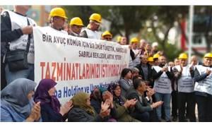 Soma işçilerinin direnişi sürüyor: Bir avuç kömür için bir ömür tükettik