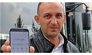 Dürüst şoförün 'Google' sitemi: 'Salak şoför' yazınca ben çıkıyorum