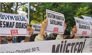 'Geri alalım' diyen gençlerden ÖSYM'ye protesto