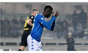 Balotelli'ye tribünden ırkçı saldırı