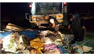 İçerisinde 10 bin TL bulunan poşet çöp kamyonundan çıktı