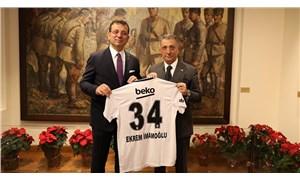 Beşiktaş Başkanı Çebi'den Ekrem İmamoğlu'na ziyaret