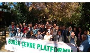 Bursa Çevre Platformu'na 'Bakan' yasağı
