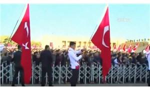 Anıtkabir'de 'Recep Tayyip Erdoğan' sloganları