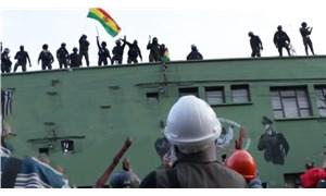 Bolivya'da Morales karşıtı protestolara polisten destek