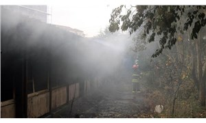 İzmit'te işçilerin kaldığı konteyner yandı