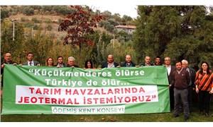 Ödemiş'ten doğa için ortak çağrı: Tarım havzalarında jeotermale hayır