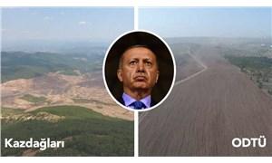 Ormanlarımızın yüzde 4,1'ini AKP döneminde kaybetmişken: Erdoğan, 'Hedefimiz zümrüt yeşili bir Türkiye' dedi