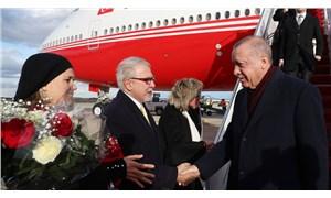 Erdoğan, ABD'nin başkenti Washington'a geldi
