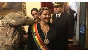 Bolivya'da sağcı senatör kendini 'devlet başkanı' ilan etti!
