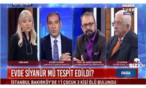 Canlı yayında ekonomiyi eleştirince böyle uyarıldı: Ahmet kaşınma!