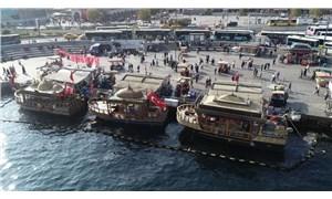 İBB, balık ekmek teknelerinin tahliyesini bekletme kararı almış