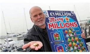 Hasta eşini eğlendirmeye çalışırken 'kazı kazanla' milyoner oldu