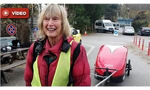 İngiltere'den Nepal'deki çocuklara yardım etmek için yola çıkan gezgin yürüyerek Türkiye'ye ulaştı