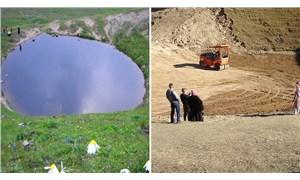 Dipsiz Göl yeniden su tutar mı?