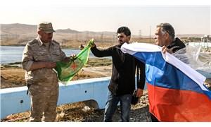 Rusya ile YPG arasında devir teslim töreni