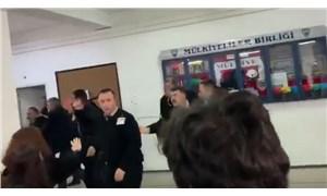 Öğrenciler 'rektör katılıyor' diye sempozyuma alınmadı, güvenlik saldırdı!